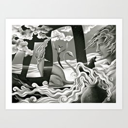 Traveler's Fortune Art Print