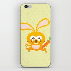 Smiling Little Bunny iPhone & iPod Skin