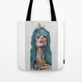 Support Living Artists the Dead Ones Don't Need it Tote Bag