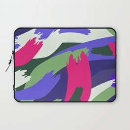 Colored petals Laptop Sleeve