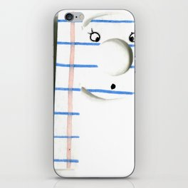 """P is for """"Perforated"""" iPhone Skin"""