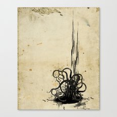 (s)inked Canvas Print