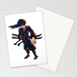Illustration of ninja Stationery Cards