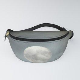 Full Moon Cloudy Sky Fanny Pack