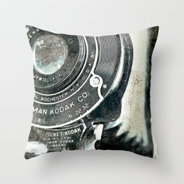 retrospect Throw Pillow
