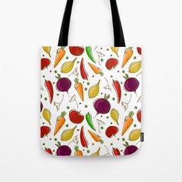 Fun vegetables Tote Bag