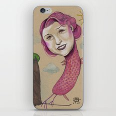 PINK LADY iPhone & iPod Skin