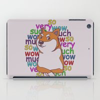doge iPad Cases featuring Doge  by Corinna Schlachter