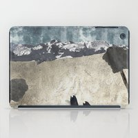 skiing iPad Cases featuring Skiing by Christopher Bennett