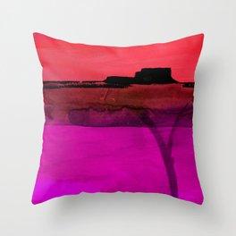 Mesa No. 100F by Kathy Morton Stanion Throw Pillow