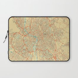 Toulouse Map Retro Laptop Sleeve