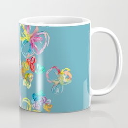 Colorful rainbow flowers Coffee Mug
