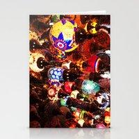 lanterns Stationery Cards featuring Lanterns by Britt Mansouri
