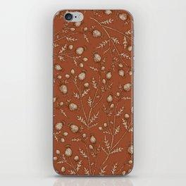 Thistle in Autumn iPhone Skin