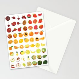 Fruits Galore Stationery Cards