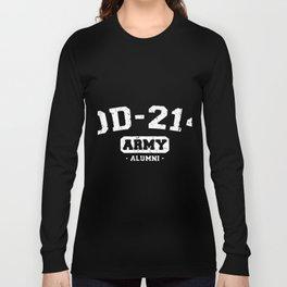 dd 214 army alumni america patriotic Long Sleeve T-shirt