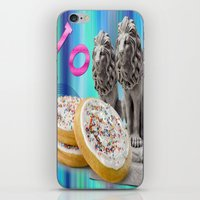 cookies iPhone & iPod Skins featuring COOKIES! by Aldo Couture