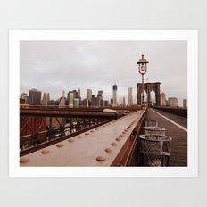 Brooklyn Bridge 02 Art Print