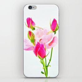 family roses iPhone Skin
