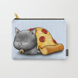 Purrpurroni Pizza Carry-All Pouch