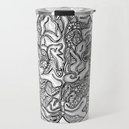 Neurons & Brain Travel Mug