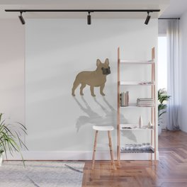 Wild At Heart - Fawn French Bulldog Wall Mural