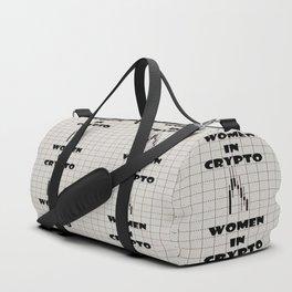 Women in Crypto Duffle Bag