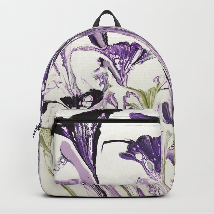 Lilac flower Backpack