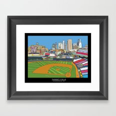 Minnesota Twins Target Field Framed Art Print