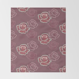 Kiss from a Rose Throw Blanket
