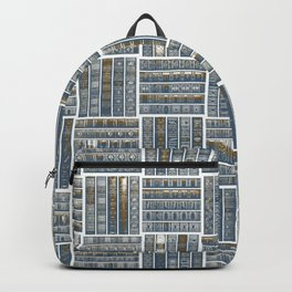 The Bookish Checkerboard Backpack
