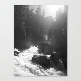 Mist Trail Canvas Print