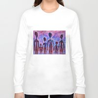 family Long Sleeve T-shirts featuring Family by teddynash