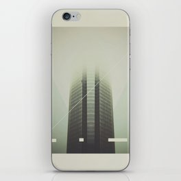 Devon Tower Divided By Fog iPhone Skin