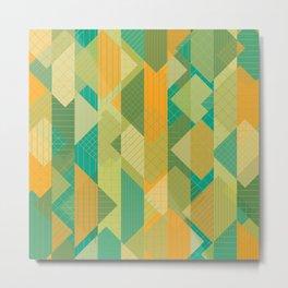 Grids, Lines, Squares Metal Print