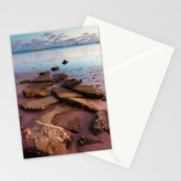 Stepping Into the Bay Stationery Cards