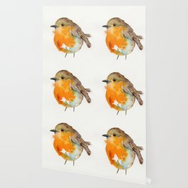 Robin Bobin Along Wallpaper