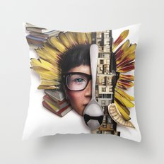 Timber | Collage Throw Pillow