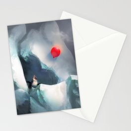 Heart Penguin Stationery Cards