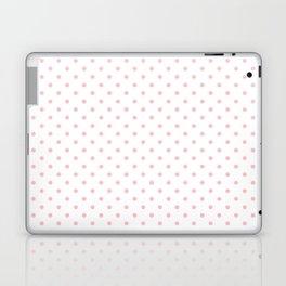 Dots (Pink/White) Laptop & iPad Skin