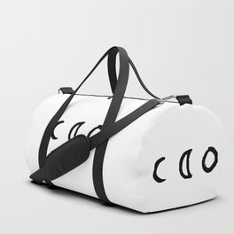 I'd Give You the Moon - White Duffle Bag