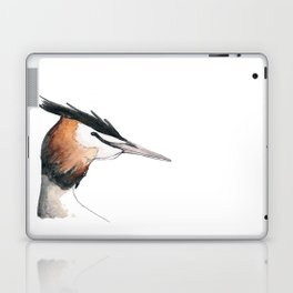 Great Crested Grebe Laptop & iPad Skin