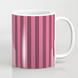 Blush Pink Stripes Pattern Coffee Mug