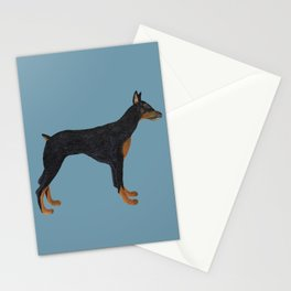 Doberman Dominique Stationery Cards