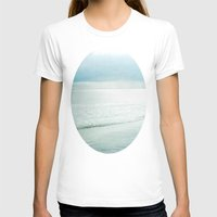 silent T-shirts featuring Silent Sea by Bella Blue Photography