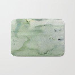 Green Abstract Bath Mat