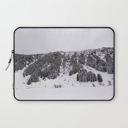 White Winterscapes III Laptop Sleeve