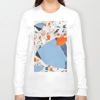 swedish Long Sleeve T-shirts featuring Swedish Lava by Pearlyn Chiam
