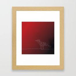 Paisley Bird Framed Art Print