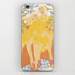 Botanical Girls iPhone Skin